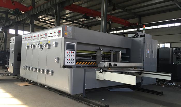 经济型前缘印刷开槽机