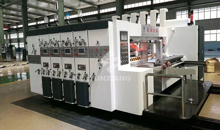 高速水墨印刷开槽模切机