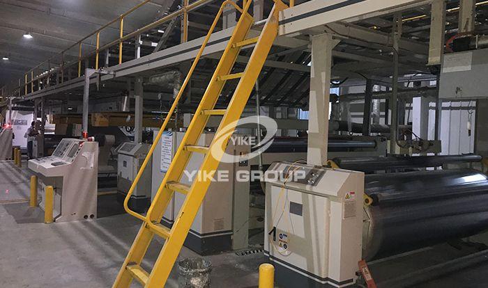 七层高速瓦楞纸板生产线