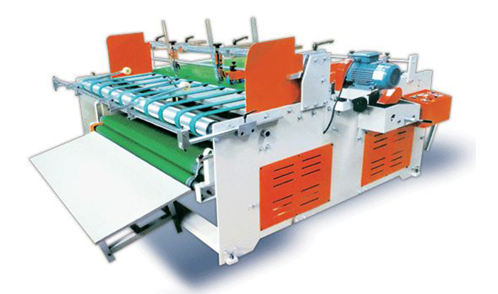 半自动压合式粘箱机